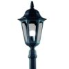 Elstead Parish PR6 Black Garden Midi Lamp Post